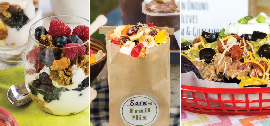 5 easy build-your-own food bar ideas for parties | reddiwip